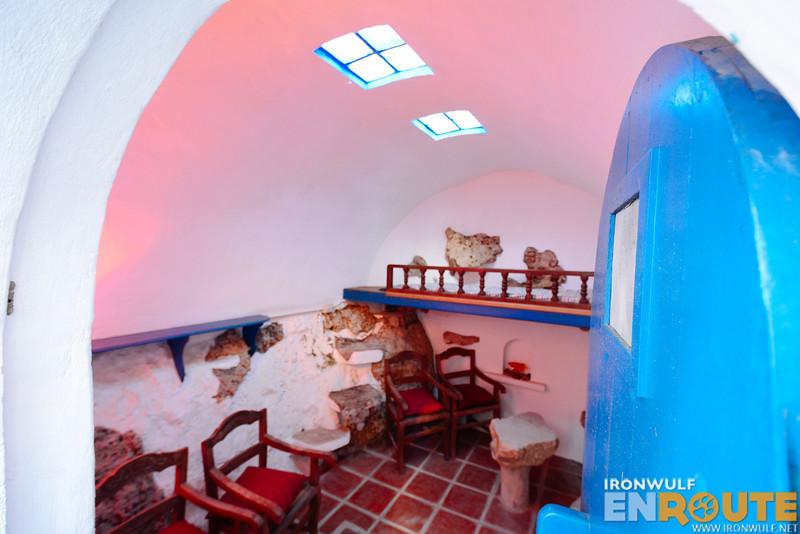 Inside La Cueva
