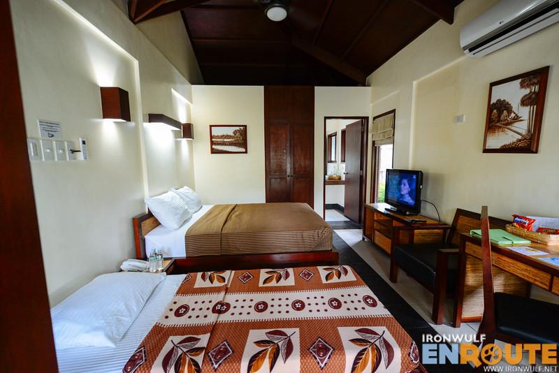 Inside the Garden Villa room