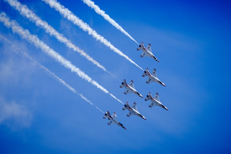 Thunderbirds in  Unison