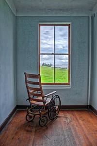 Wheel Chair at Old Hospital Fort Warden, Washington