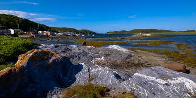 Another idyllic Newfoundland fishing village screen.