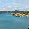 Ferry arriving Rotoroa Island