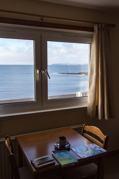 View from Room: Holm View Guesthouse, Isle of Lewis