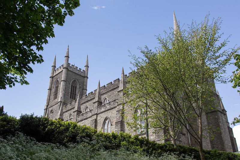 Down Cathedral, Downpatrick, Northern Ireland.