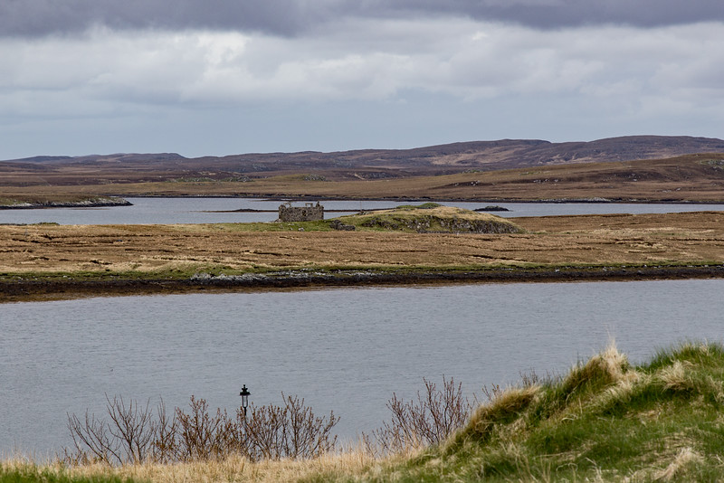 View from Calanais Stones Visitor Center