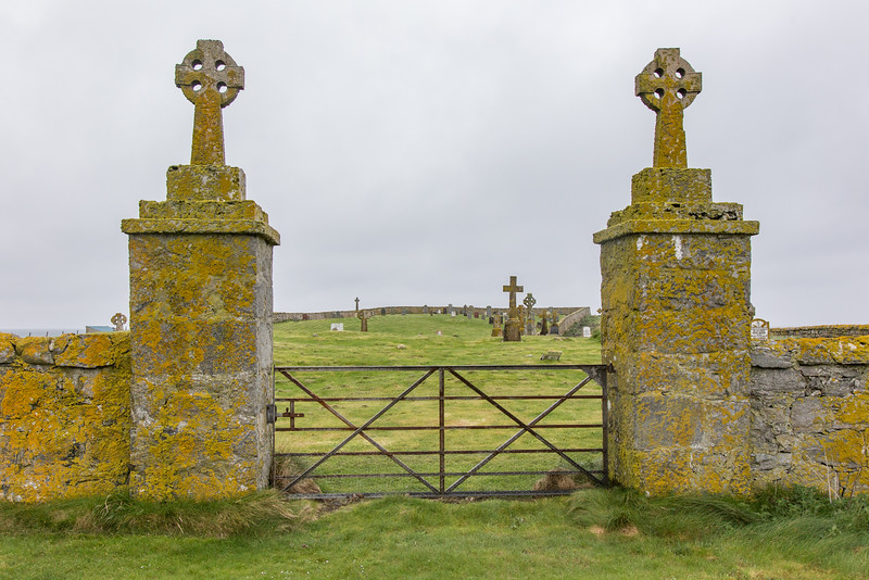 Staoinebrig (Stoneybridge) Cemetery, South Uist