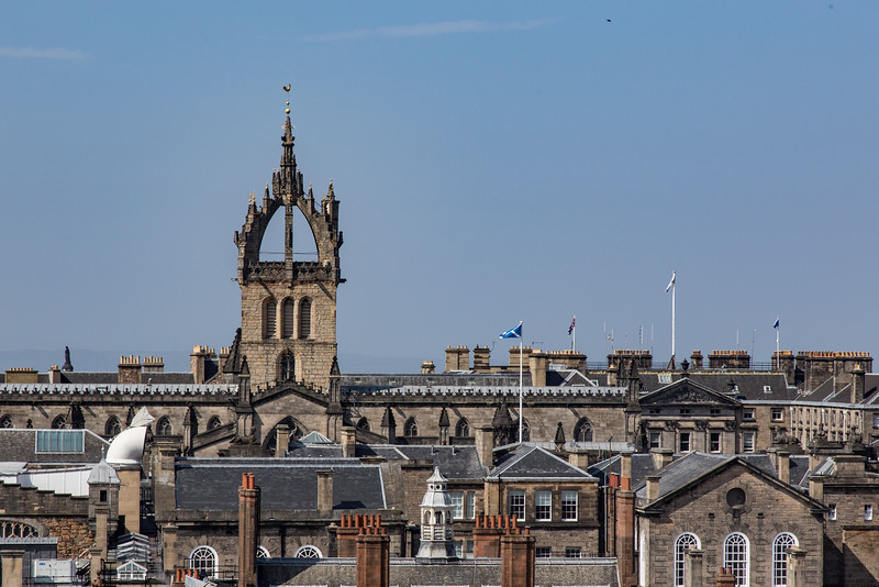 St. Giles Cathedral and Skyline, Edinburgh
