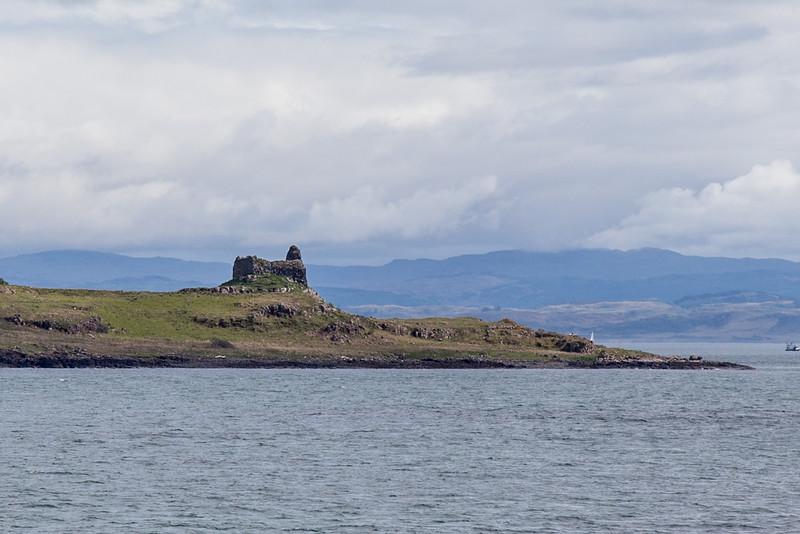 Ardtornish Castle, Near Lochaline