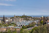 Waverly Station, Calton Hill, Firth of Forth: View from Castle