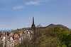 Arthur's Seat: View from Edinburgh Castle