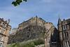 View of Edinburgh Castle from Grassmarket