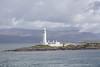 Lighthouse, Eilean Musdie Island, near Mull