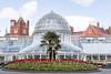 Belfast Botanic Garden with Queen's University, Belfast in Background