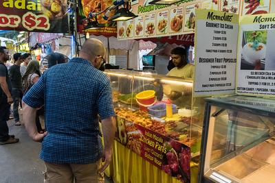 Indian Masala Chicken Parts - Ramadan festival, Singapore.