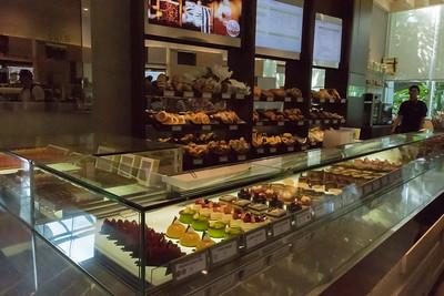 Marina Bay Sands hotel, sweet shop.