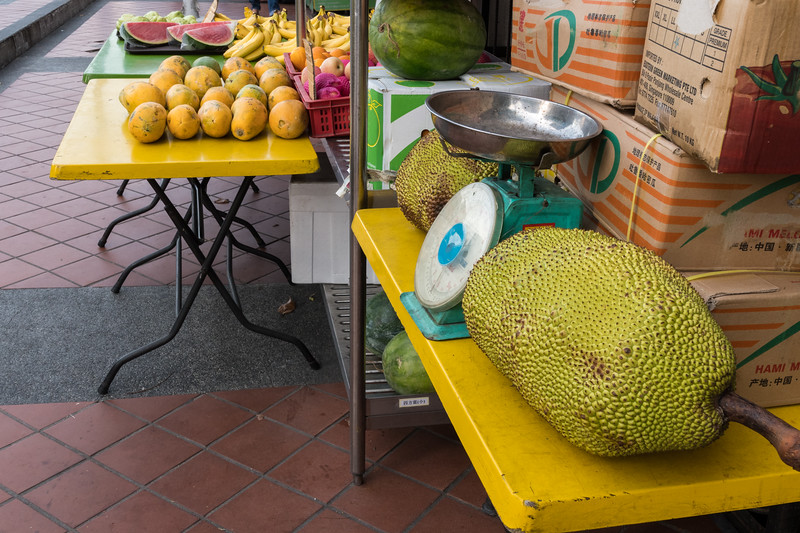 Jackfruit, Little India, Singapore.