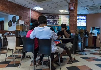 Madras New Woodlands restaurant, Sinagpore.
