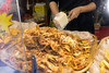 Fried crabs - Ramadan festival, Singapore.