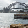 Harbour bridge from Barangaroo Reserve