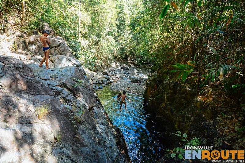 Water no longer flows at Pag-alad Falls