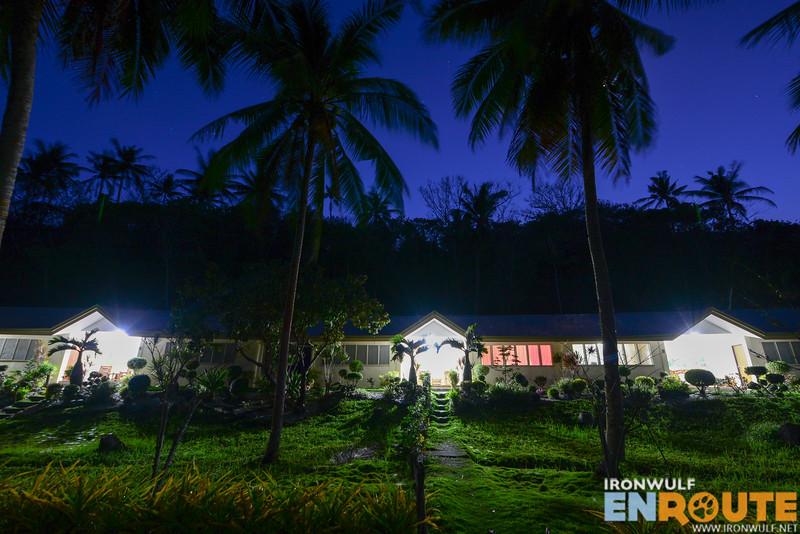 Accommdations lit at night