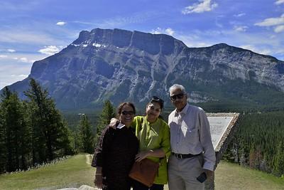 Western canada tour with Dr. Prabir Dasguta and family