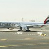 Emirates Boeing 777-300ER waits to take-off