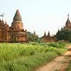 13th Century temples at Bagan, Burma.