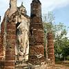 Wat Saphan Hin in Sukhothai, Thailand.