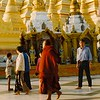 First visit to the Shwedagon in 1997.