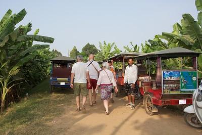 Riding to the silk farm..
