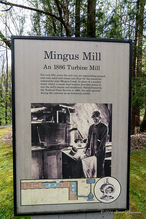 Mingus Mill at Mingus Creek