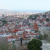 View toward Barcelona harbor area from  Vall de Hebron