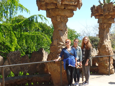 2016-04-24 - Park Guell and The Bunkers