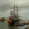 Tall ship for tours