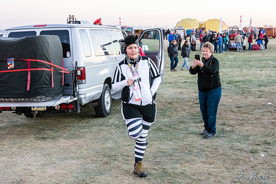 One Leg Zebra