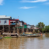 Tonle Sap stilt houses