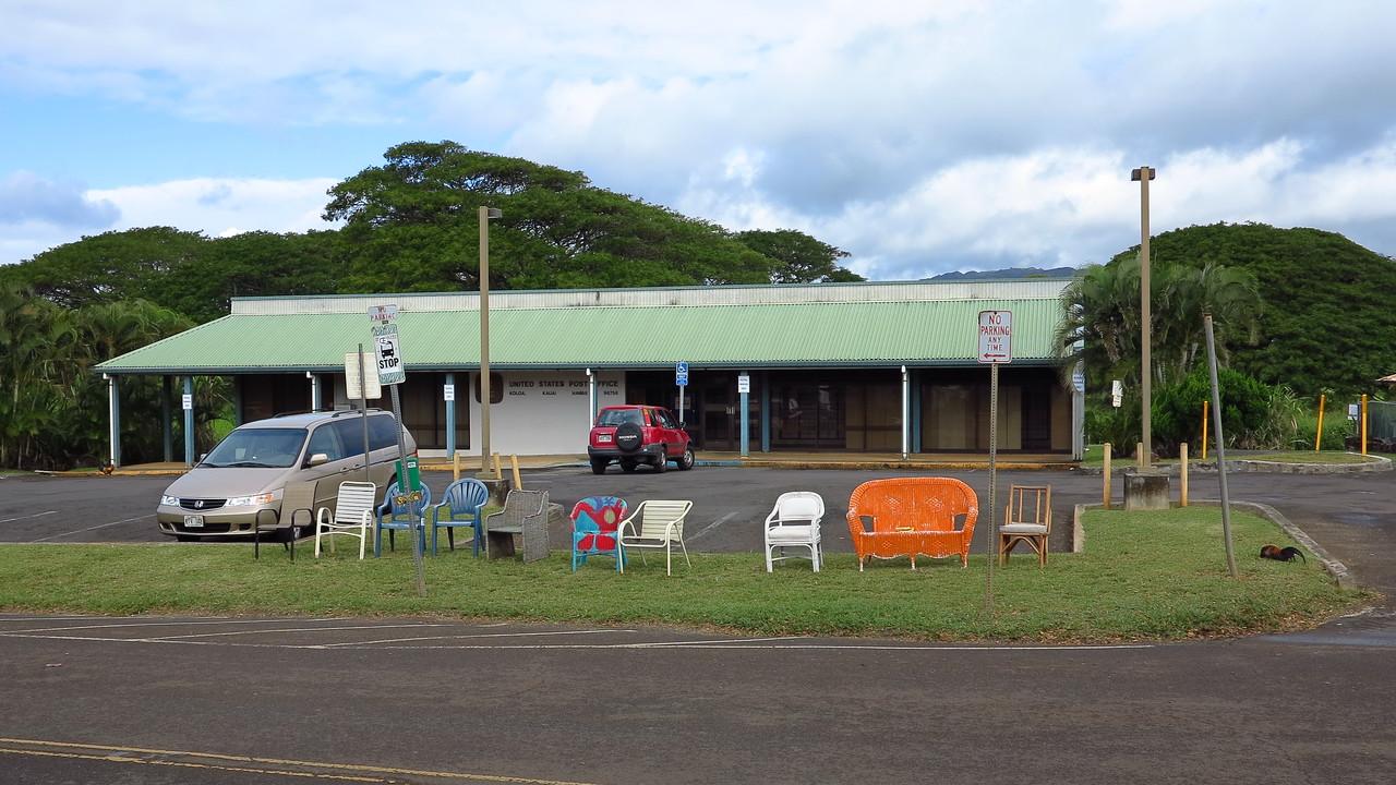 Old Koloa Town bus stop