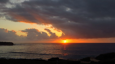 Point at Poipu sunrise