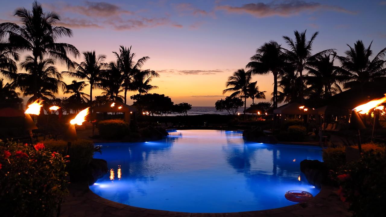 pool next to Maui Duke's