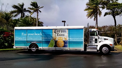 find your beer truck