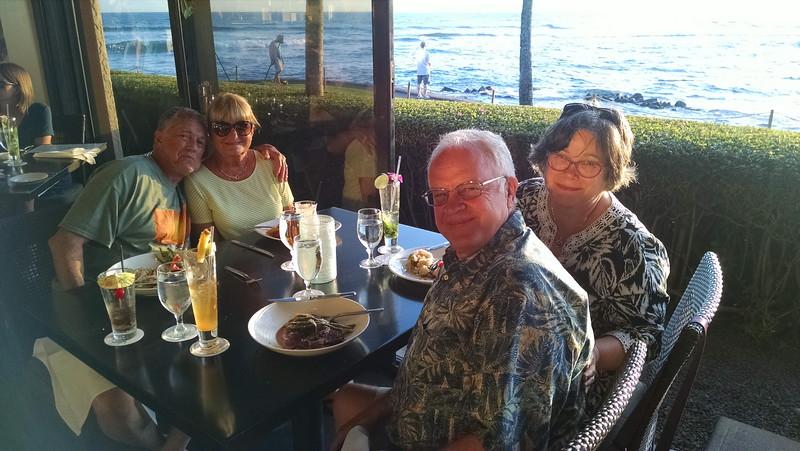 dinner at the Beach House