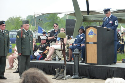 Part of the ceremony (Soldier's Cross)