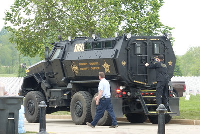 SWAT was even there!