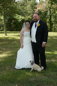 Brooke and Steven Hall (with their dog, Boris)