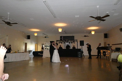 The Bride and Groom's first dance as man and wife.