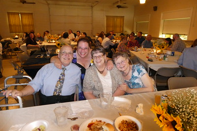 Jack and Verna Stickles, Joyce Caudell and Sherri Newman