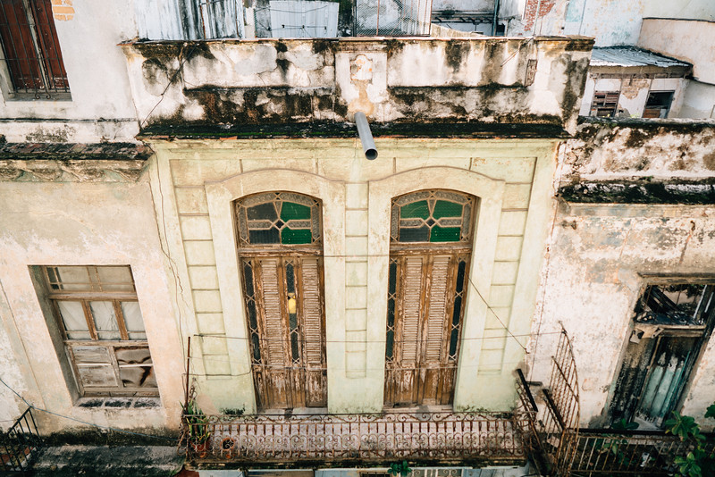 A view from the living room - Havana, Cuba, November 2017
