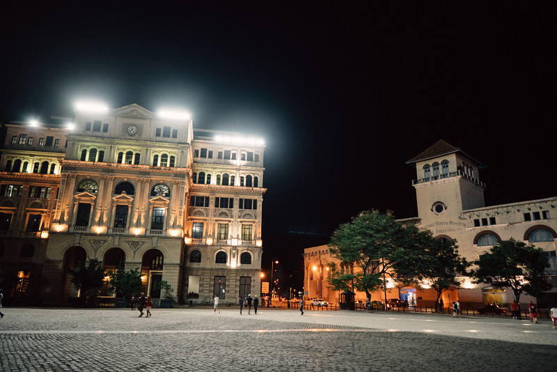 Plaza de San Francisco, Havana, Cuba, November 2017
