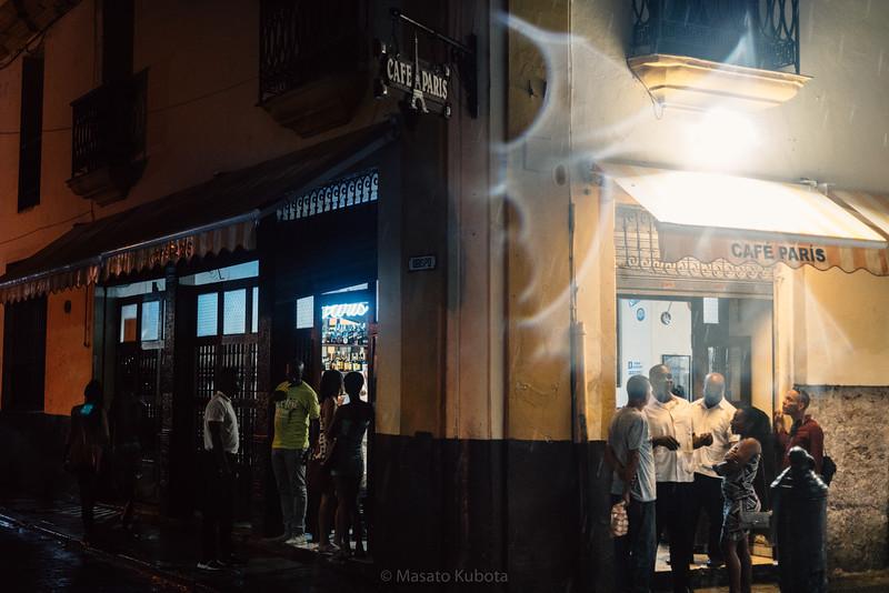 Cafe Paris - Obispo St., Havana, Cuba, November 2017